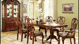 Furniture _ Luxurious Formal Dining Room Tables That Made of Solid Wood Ideas