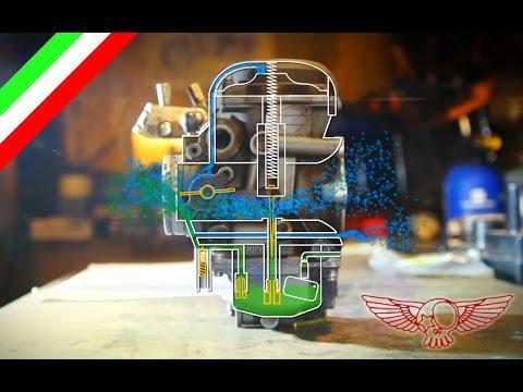 Come funziona il carburatore CV e regolazione - ep 26 - Roma Custom Bike