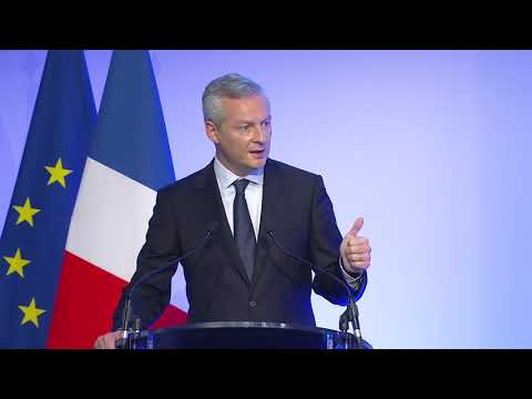 Opening addresses - Bruno LE MAIRE, French Minister of the Economy and Finance -Paris Infraweek 2017