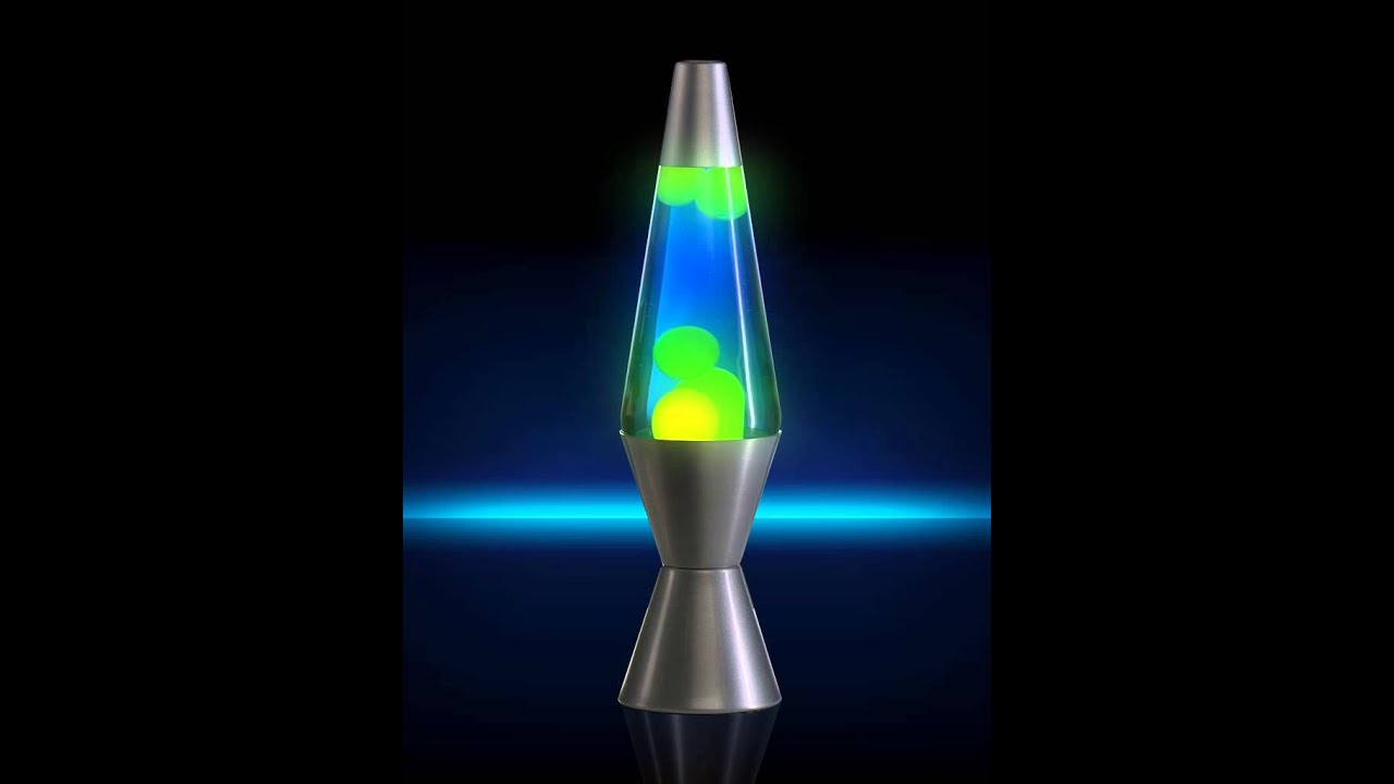 "14.5"" Classic Lava Lamp- Yellow/Blue - YouTube"