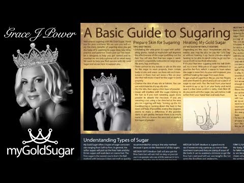 A Basic Guide to Sugaring PDF by Grace J Power at My Gold Sugar