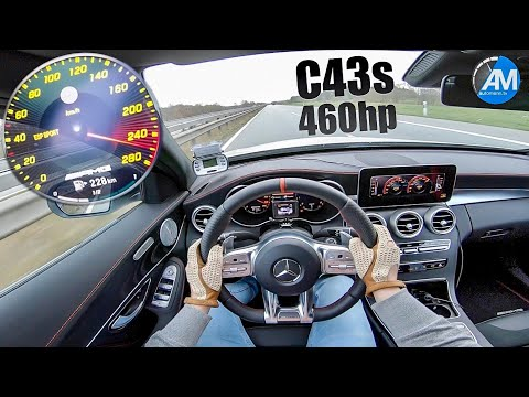 Tuned, 454HP Mercedes-AMG C43 Goes Like A Bat Out Of Hell