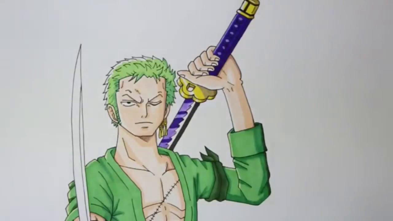 Comment Dessiner Zoro 2ans Apres One Piece