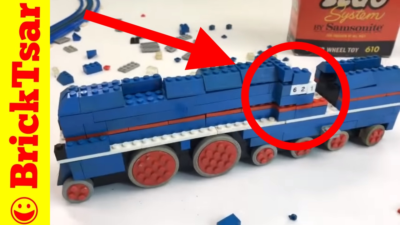 The Frustrating Time Lapse Of Building Lego Set 610 Super