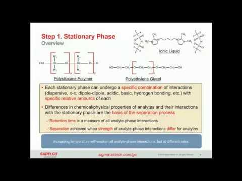 Capillary GC Column Selection And Method Development
