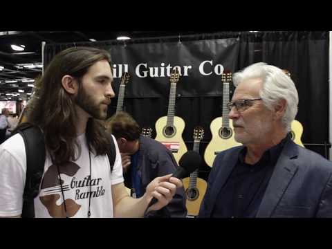 Kenny Hill, Hill Guitar Co. - NAMM 2018