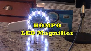 HOMPO LED Magnifier #ProductReview