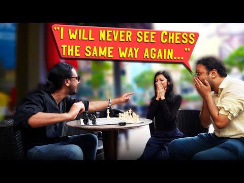 Mind Reading Chess ft. Sagar Shah & Amruta Mokal (@ChessBase India)   Karan Singh Magic