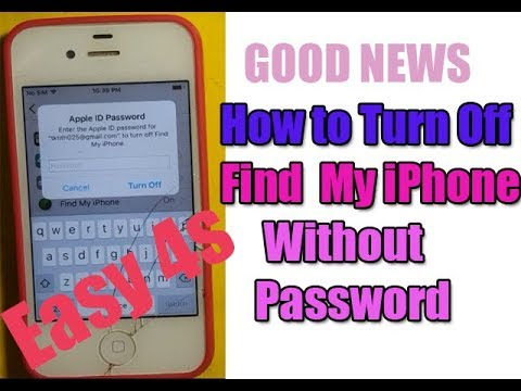How to Turn Off Find  My iPhone  Without  Password Easy with iPhone 4s / iCloud Remove 2019