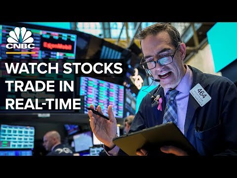 Watch stocks trade in real-time -- Thursday, May 9 2019