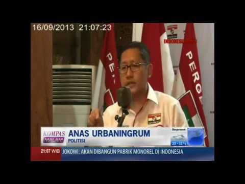 INTERVIEW 160913 KOMPAS TV DG ANAS URBANINGRUM 1