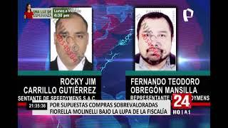 Fiorella Molinelli bajo la lupa de la Fiscalía por supuestas compras sobrevaloradas