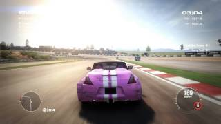 GRID 2 PC Multiplayer Race Gameplay: Tier 2 Upgraded Nissan Fairlady 370z Roadster in Algarve