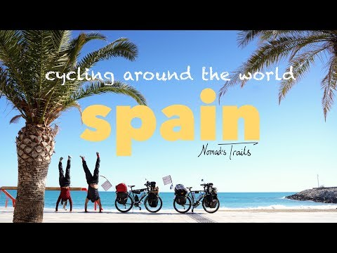 Cycling around the world: 7th VLOG - Spain -