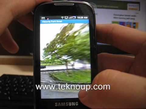 Sekilas Penggunaan Samsung Galaxy 551