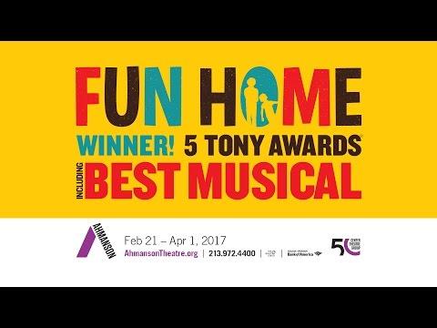Fun Home | Teaser | Ahmanson Theatre | Los Angeles