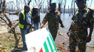 Lake Nakuru plane crash debris washes up but no bodies yet
