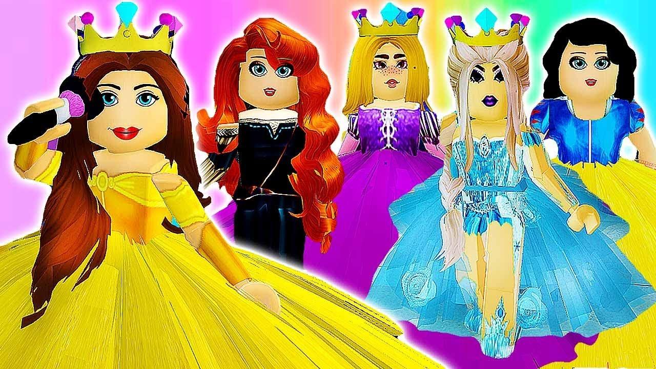 Disney Princess Morning Routine Royale High School Roblox