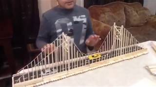 Hi guys and this is how to make a suspension bridge model! #Bridge #Edmonton #Epic #Aarnavo (Channel) http://lyt.fyi/x6627 or