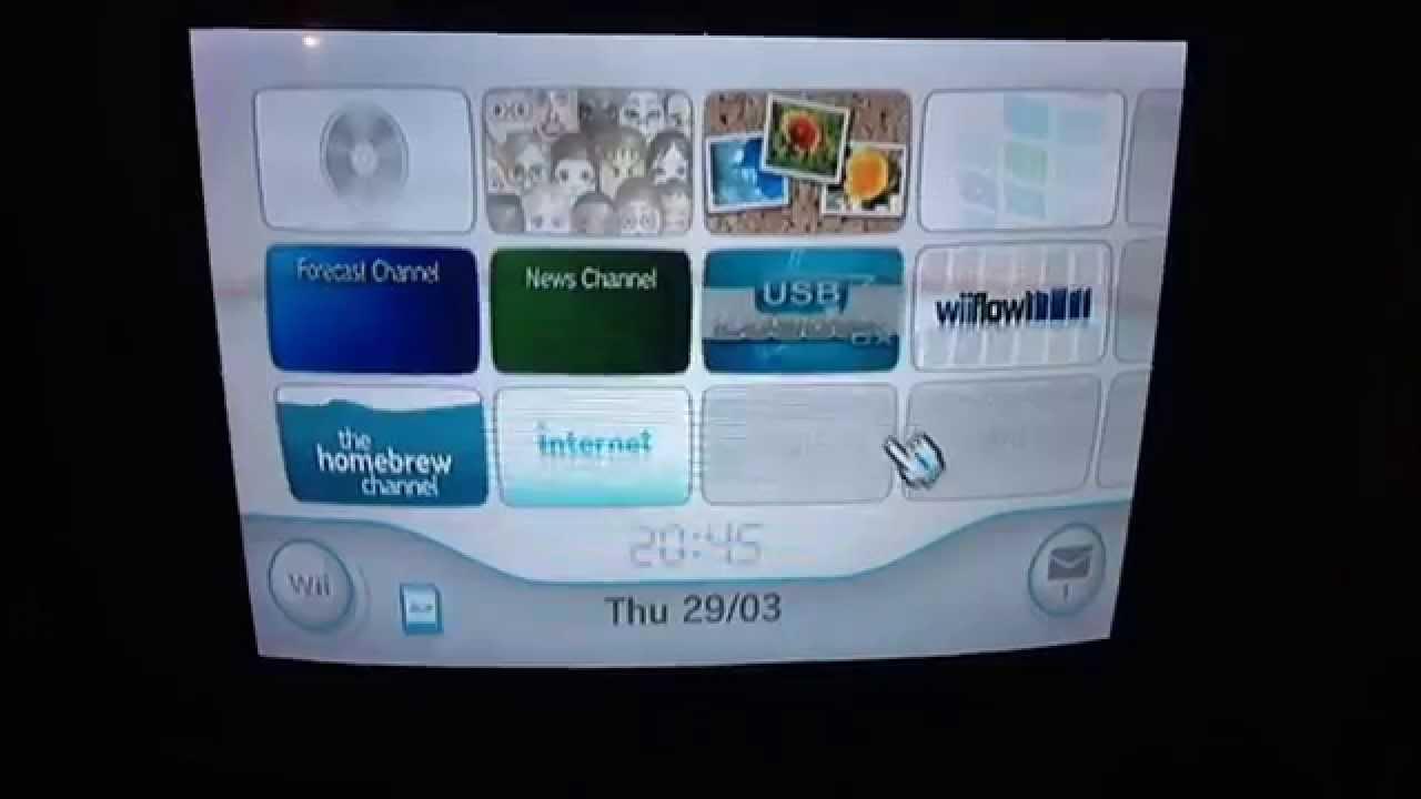 Wii Usb Loader Gx Blackscreen Fix When Loading Game Youtube