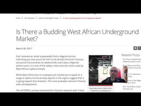 Is West Africa Poised for an Underground Market?