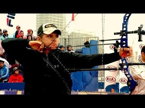 Compound Men Individual Bronze - Stage 1 : SHANGHAI - Archery World Cup 2014
