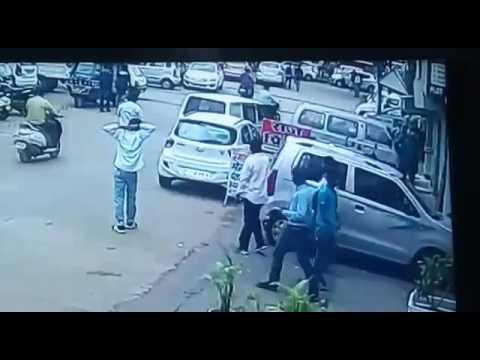 Bhopal ATM cash thiefs CMS VAN 20 July 2017
