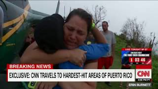 Hurricane leaves Puerto Rico without food, water and fuel