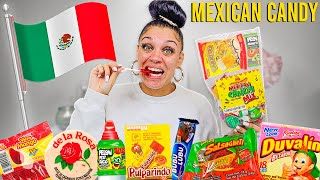 AMERICAN TRIES MEXICAN CANDY!!
