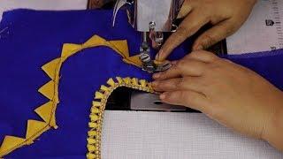 Trendy fashion saree blouse designs 2018