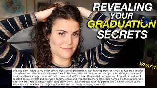 REVEALING YOUR GRADUATION SECRETS | AYYDUBS