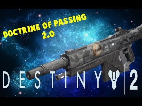 Destiny 2 | The Foward Path Iron Banner Legendary Auto Rifle | Doctrine of Passing 2.0