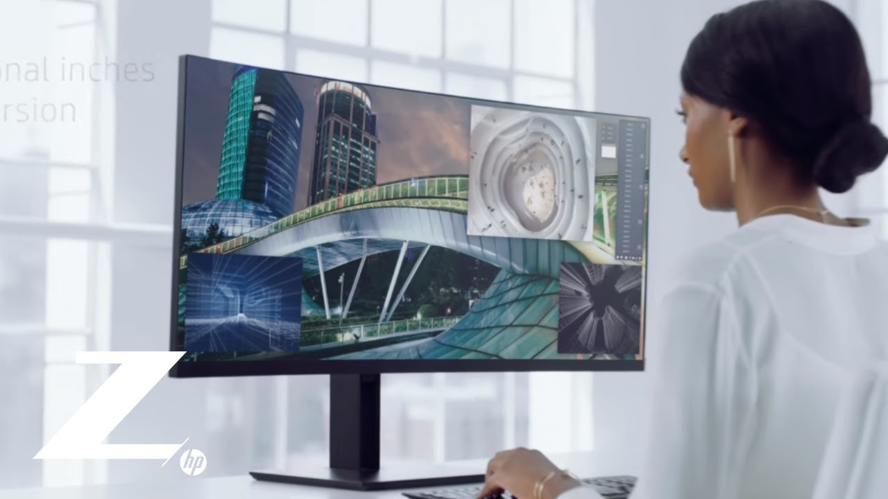 Introducing the HP Z38c Curved Display | Z by HP