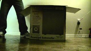 Unboxing New Subwoofer HT 100