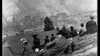 SAN FRANCISCO EARTHQUAKE 1906---Erdbeben 1906 in San Francisco