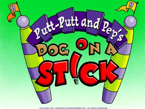 Putt-Putt and Pep's Dog on a Stick Walkthrough