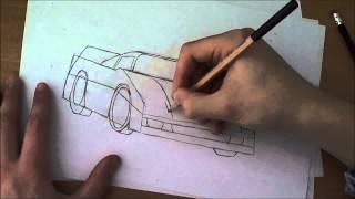speed draw-(ferrari F50)