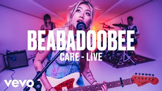 beabadoobee - Care (Live) | Vevo DSCVR