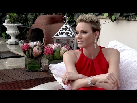 Princess Charlene talks about her love for Africa