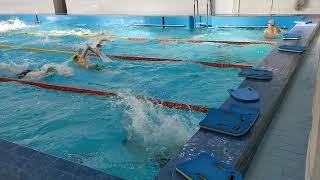 Занятие студентов МЭИ в бассейне
