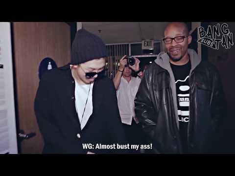 [ENG] 150308 [BTS in NAVER STAR CAST] Rap Monster with Warren G (2/3)