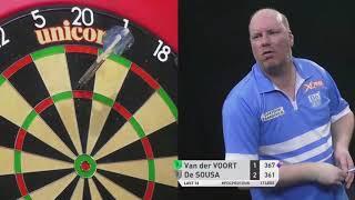 Jose de Sousa vs. Vincent van der Voort | Players Championship 16 2019 | Last 16