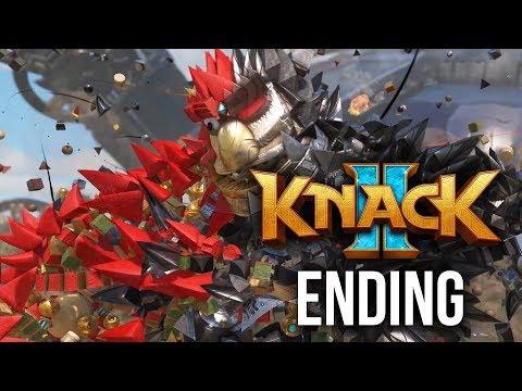 KNACK 2 ENDING Walkthrough Part 12 - CHAPTER 14 & 15 (PS4 Pro 60fps Gameplay)