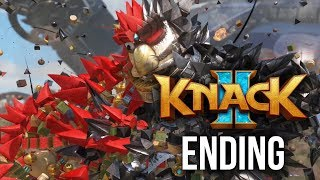 KNACK 2 ENDING Walkthrough Part 12 - CHAPTER 14 & 15 (PS4 Pro 60fps Gameplay)