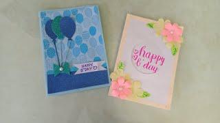 Birthday card tutorial/How to make a birthday card/Birthday card ideas/Card making ideas/Birthday