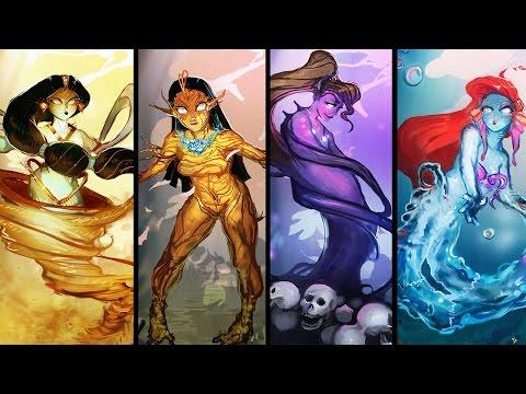 Принцессы Диснея: Мистические существа. Princesses of Disney Mystical Creatures