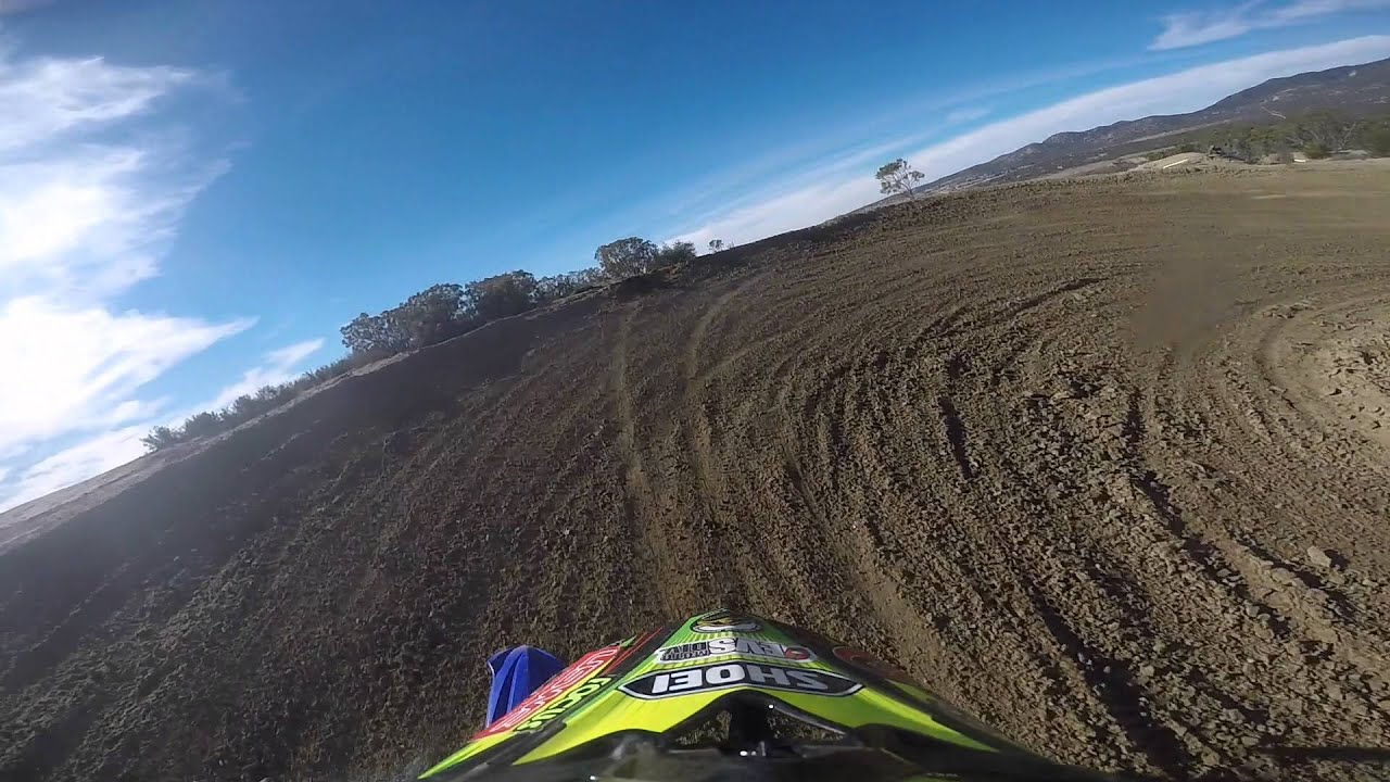 2016 YZ250X Hot Lap /// Robby Bell GoPro