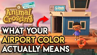 What Your Airport Color Means In Animal Crossing New Horizons