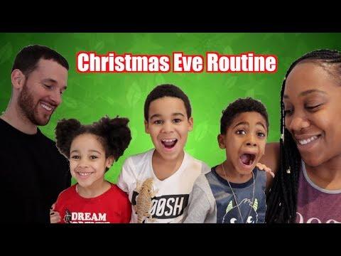 Christmas Eve Routine!!