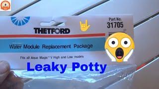 Leaky Potty - RV Toilet Leaks - Water Module